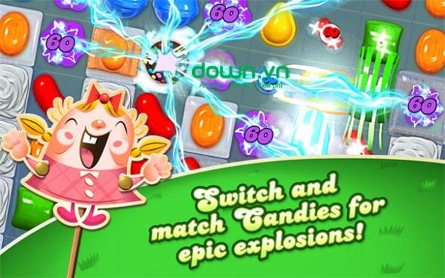 Candy Crush Saga miễn phí
