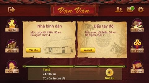 Tải game chắn vạn văn online mới nhất
