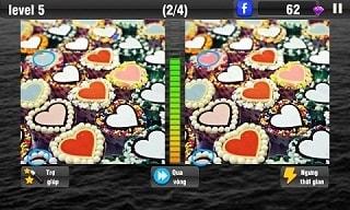 Tải game tìm điểm khác biệt trên CH Play cho điện thoại