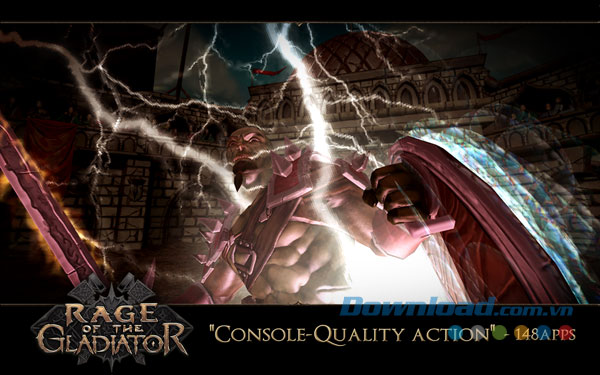 Tải game Rage of the Gladiator trên CH Play Android