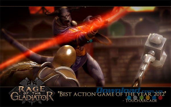 Tải game Rage of the Gladiator trên CH Play APK
