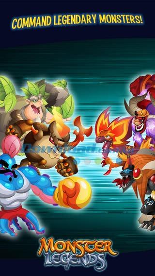 Tải game Monster-Legends trên CH Play miễn phí