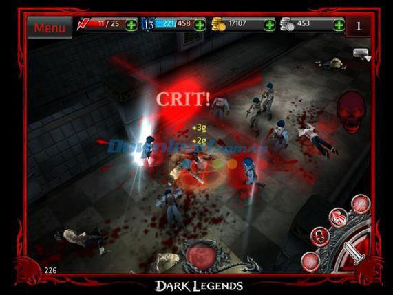 Dark Legends cuộc chiến ác liệt