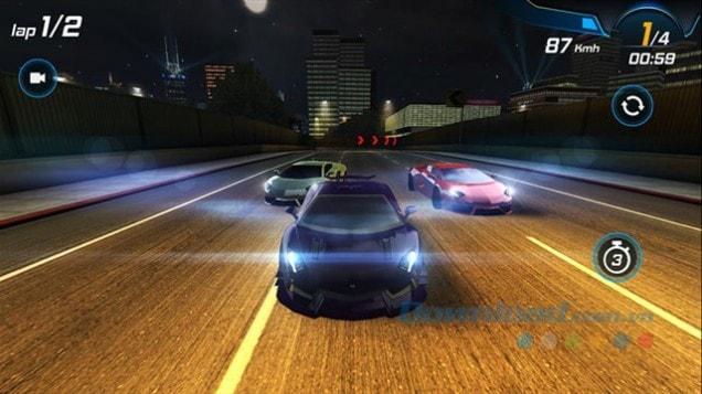 Down Car Racing 3D nhanh nhất