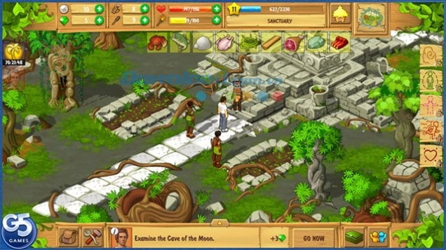 Down Island castaway cho Android