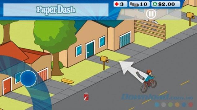 Down Paper Dash rao báo hấp dẫn