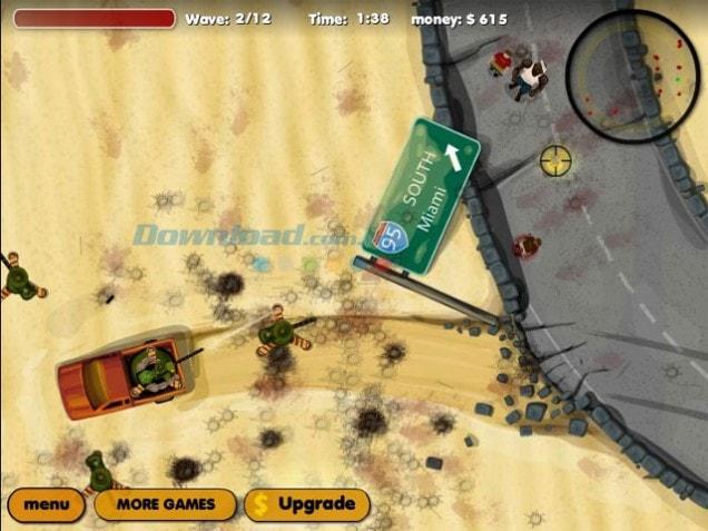 Down game Bath Salts Zombies hoành tráng