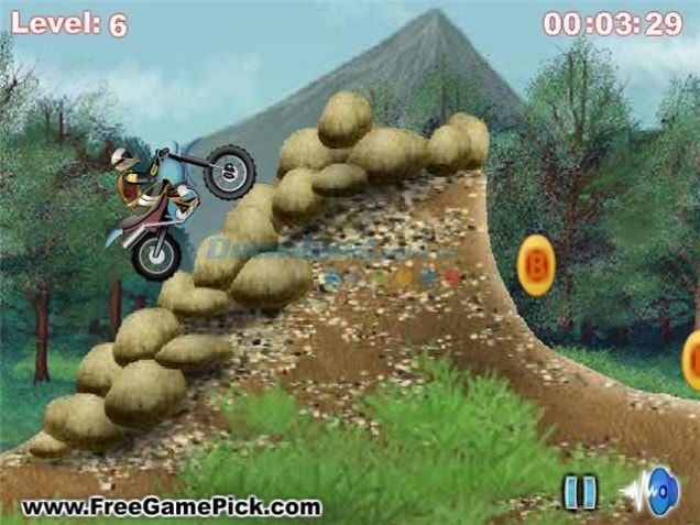down game Nuclear Motocross hấp dẫn