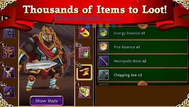Download game Arcane Legends ấn tượng