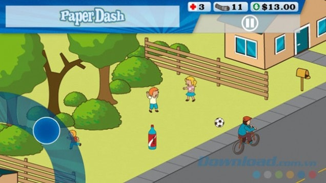 Download game Paper Dash free online