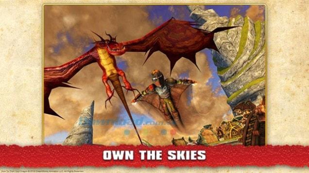 School of dragons yêu động vật trên CH Play