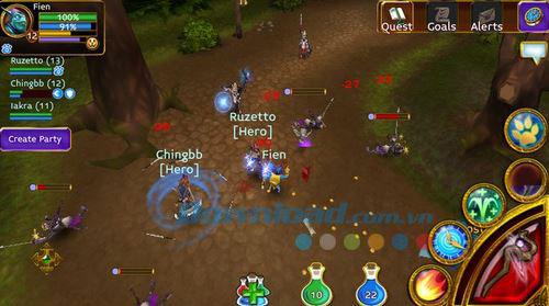 Tải game Arcane Legends cực thú vị