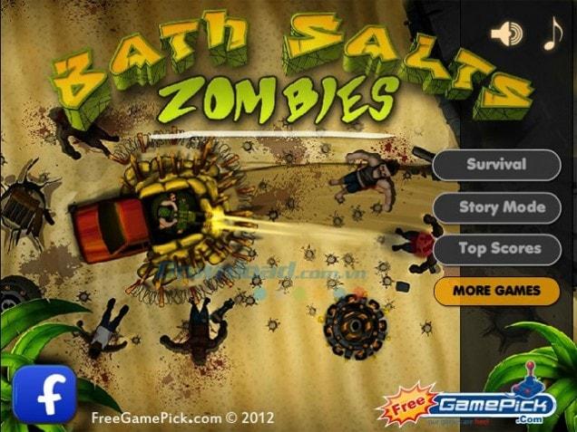 Tải game Bath Salts Zombies hấp dẫn