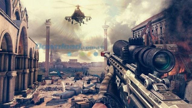 Tải game Modern Combat đồ họa hùng vĩ