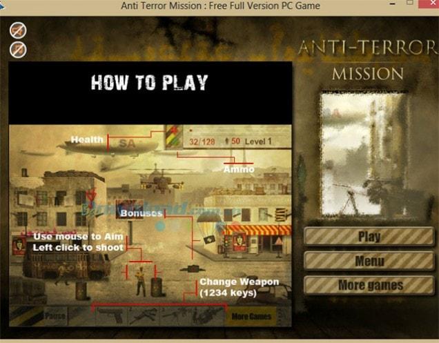 Anti Terror Mission kịch tính đến ngạt thở