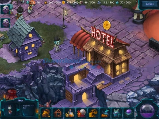 Game The Happy Hereafter hồ họa bất ngờ