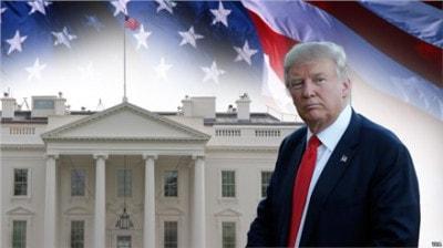 Donald Trump ngày đầu nhậm chức