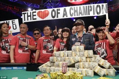 Người Mỹ gốc Việt giành giải Poker thế giới