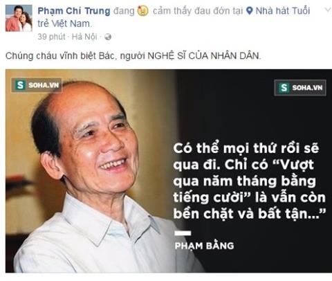NSUT Phạm Bằng qua đời