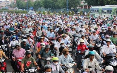 Phạt xe máy không đăng ký chính chủ