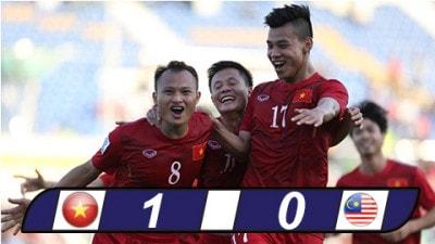 Việt nam đánh bại Malaysia