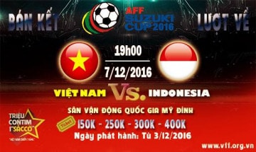 Bán kết Việt Nam - Indonesia