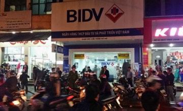 Cướp tiền ngân hàng tại thành phố Huế