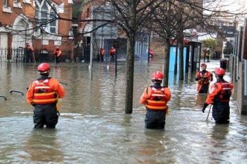 London ngập lần thứ 3 vì vỡ ống nước
