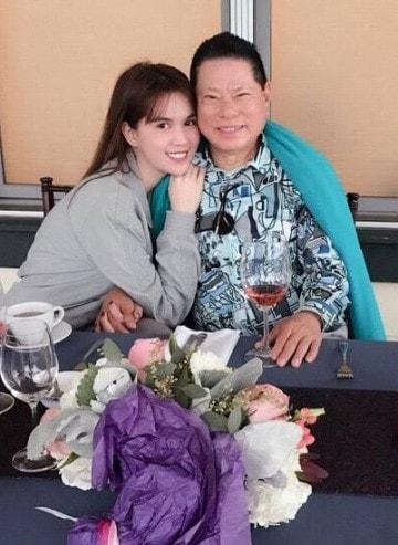 Ngọc Trinh và bạn trai Hoàng Kiều