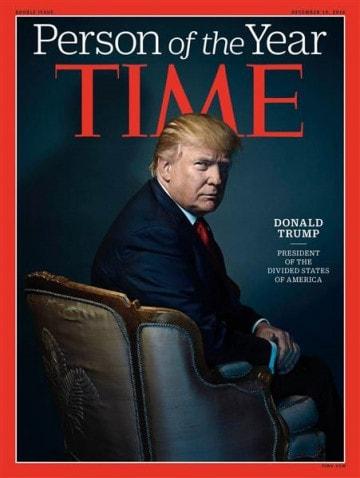 Tạp chí Time bầu chọn Donald Trump