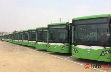 Xe bus nhanh hiện đại nhất thủ đô HN