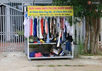 Ai cần đến lấy quần áo miễn phí