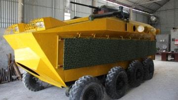 Bán sắt vụn xe bọc thép made in Việt Nam