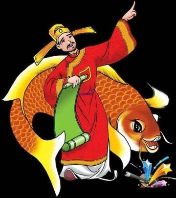 Cá chép cúng táo quân
