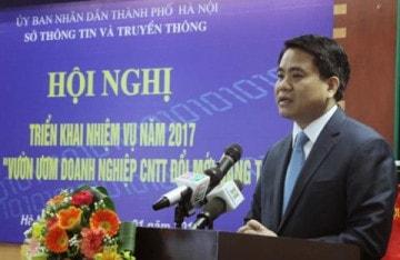Chủ tịch thành phố Hà Nội Phó Đức Trung