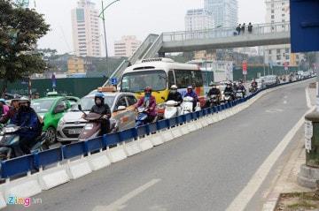 Dải phân cách xe bus BRT
