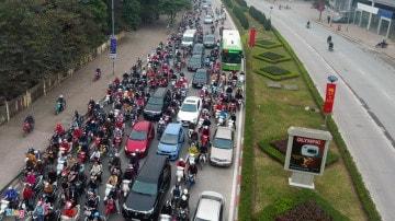 Ô tô lấn làn xe bus BRT