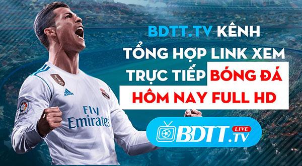 Xem kết quả bóng đá trực tiếp trên BDTT.TV 03