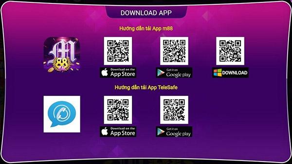 Hướng dẫn tải App cá cược M88 01