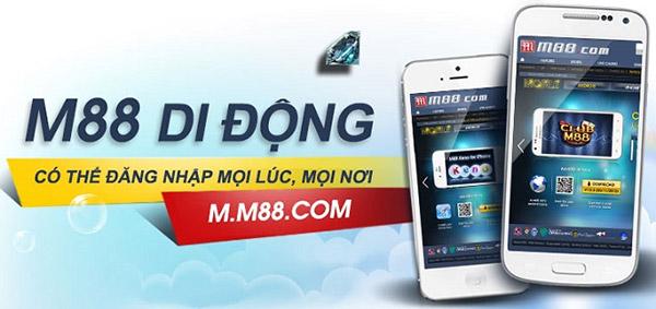 Hướng dẫn tải App cá cược M88 02