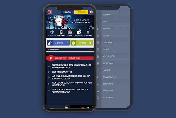 Hướng dẫn tải App cá cược M88 03
