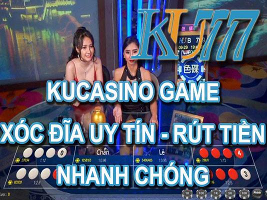 Hướng dẫn tải game xóc đĩa đổi thưởng trên Ku777 01