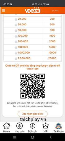 Hướng dẫn các bước nạp thẻ Giang Hồ Truyền Kỳ 02