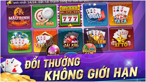 Những game bài đổi thưởng có nhiều lượt chơi nhất hiện nay 01