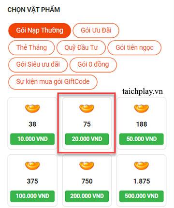 Hướng dẫn nạp thẻ Long Vũ 3D qua SMS 02