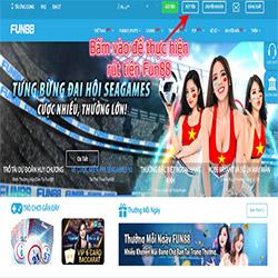 Hướng dẫn cách rút tiền Fun88 icon