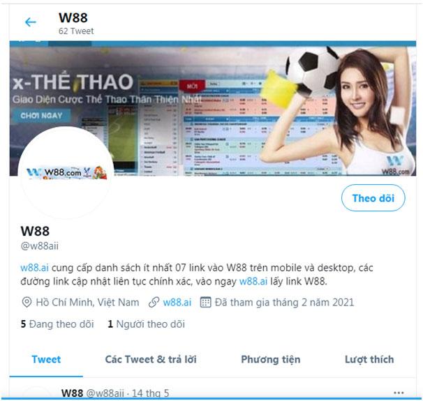 Hướng dẫn đăng ký tài khoản Twitter W88 02