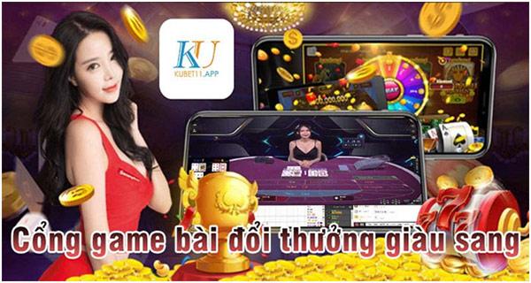 Kubet - Cổng game bài đổi thưởng giàu sang 01