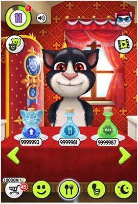 My Talking Tom 2 Hack LMHMod - Chăm sóc mèo Tom đáng yêu 02