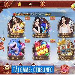 Nhà Cái CF68 Hỗ Trợ Những Tựa Game Nào Cho Sảnh Live Casino? icon